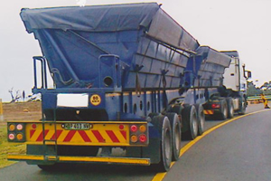 Side or Rear Tippers for your transporting needs